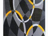 Yellow Grey Black area Rug Masada Rugs Modern Contemporary area Rug Yellow Grey Black 8 Feet X 10 Feet