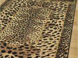 Zebra Print area Rug 8×10 Leopard Print area Rugs Small Extra Animal soft