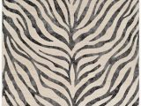 Zebra Print area Rug 8×10 Rugs City Cr613 Taupe area Rug In 2020