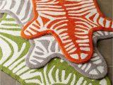 Zebra Print Bath Rugs Jonathan Adler Zebra Bath Rug